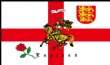 5ft x 3ft St Georges Cross Charger Cross of St. George England Flag - 100 Denier